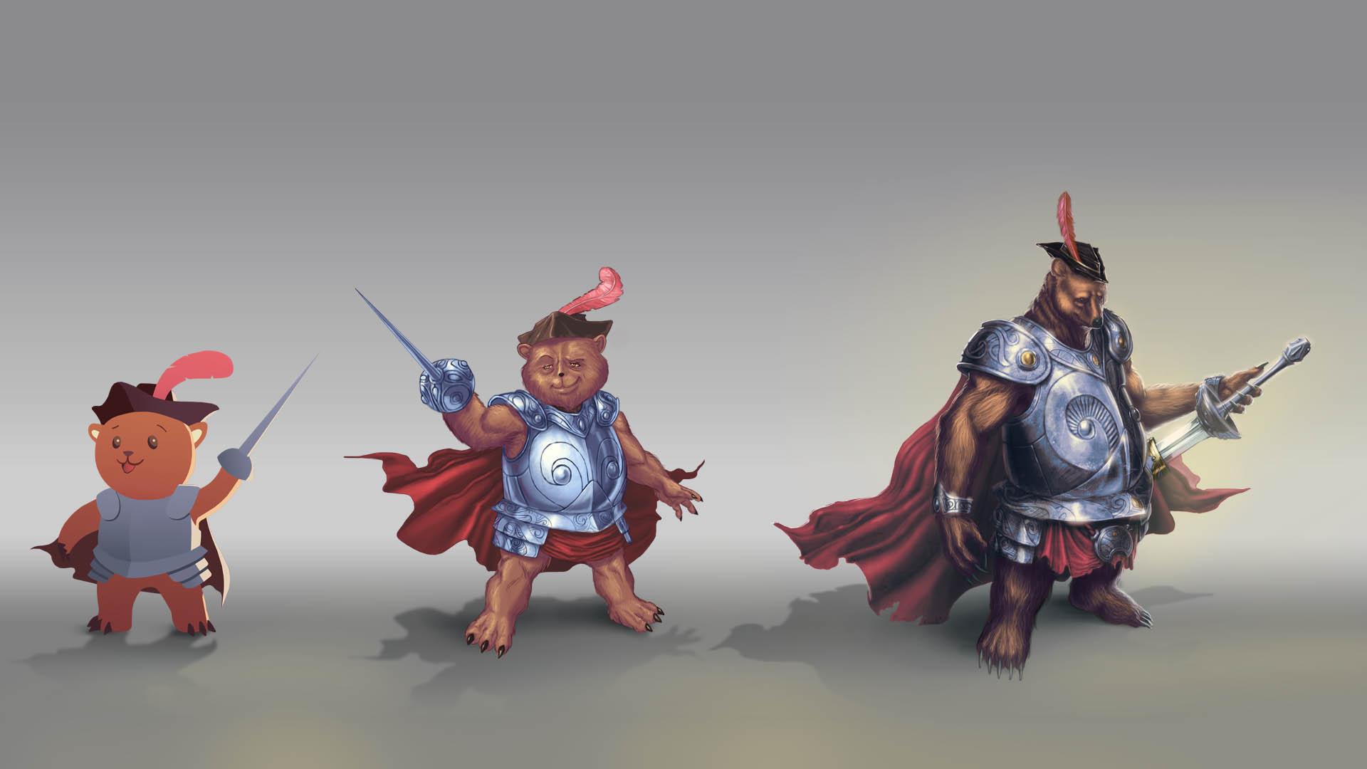 نمونههایی از طراحی كاراكترها و شخصیتهای تجاری و تبلیغاتی ساخته شده در كانون تبلیغاتی ویرا ورنا
