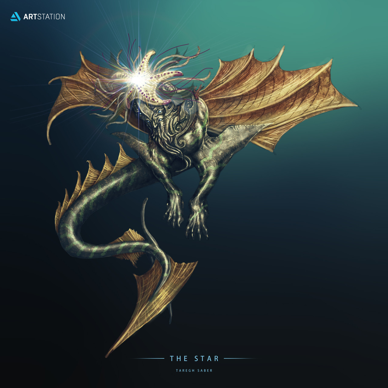 taregh-saber-star-sea-color-text