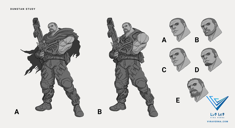 طراحی کاراکتر برای انیمیشن