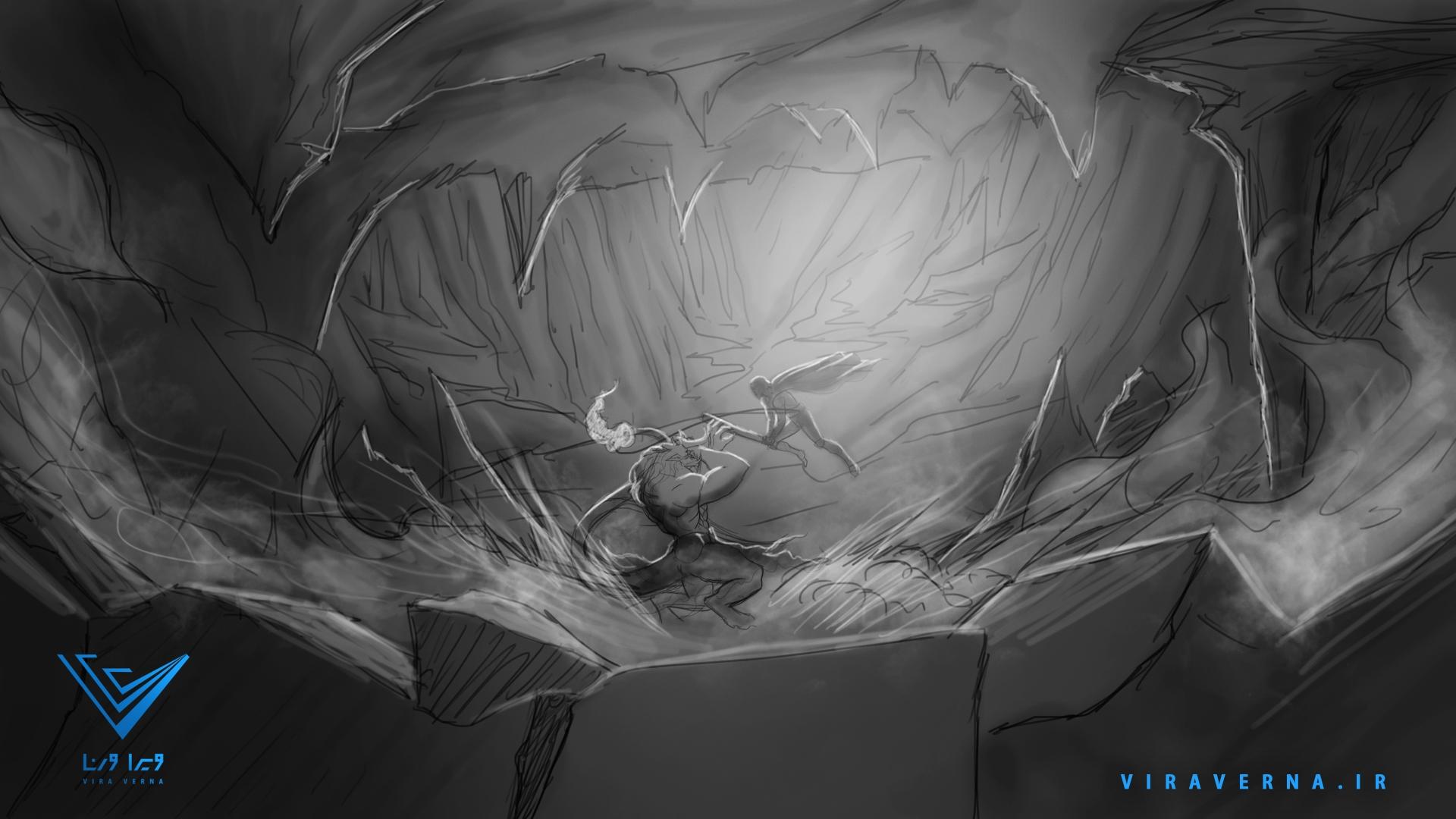 انیمیشن روز بزرگداشت فردوسی - استوری بورد دوازدهم