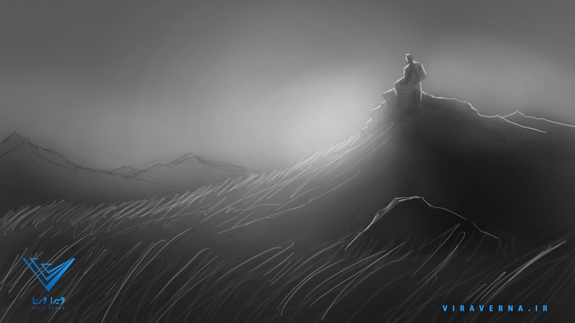 انیمیشن روز بزرگداشت فردوسی - استوری بورد سیزدهم